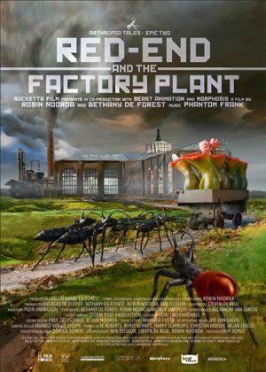Red-end and the factory plant/Capăt-roșu și fabrica – The Netherlands-Belgium/Olanda-Belgia