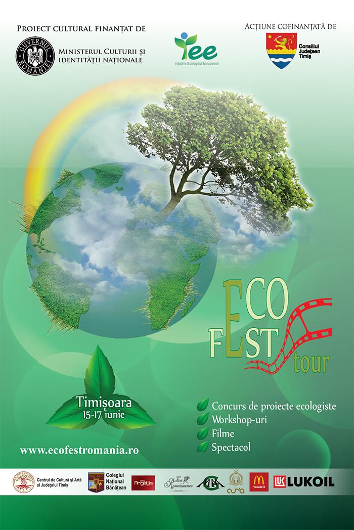 Festivalul Internațional de Film Ecologist ECO FEST TOUR – Timisoara 15 – 17 iunie